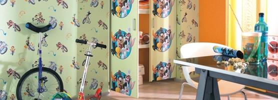 Papel Pintado Infantil Kids Club 2012