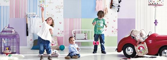 Colección Papel Pintado Infantil Lollipops