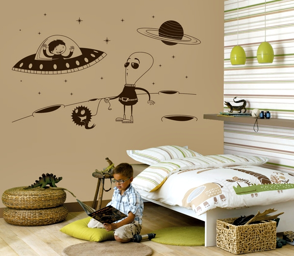 Vinilos infantiles para decoración de paredes exclusivos de papelpintadoonline.com