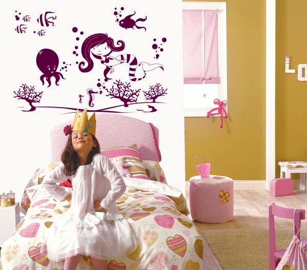 Vinilos infantiles para decoración de paredes