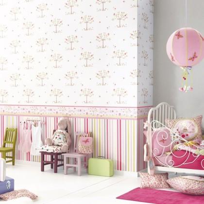 papel pintado infantil lollipops