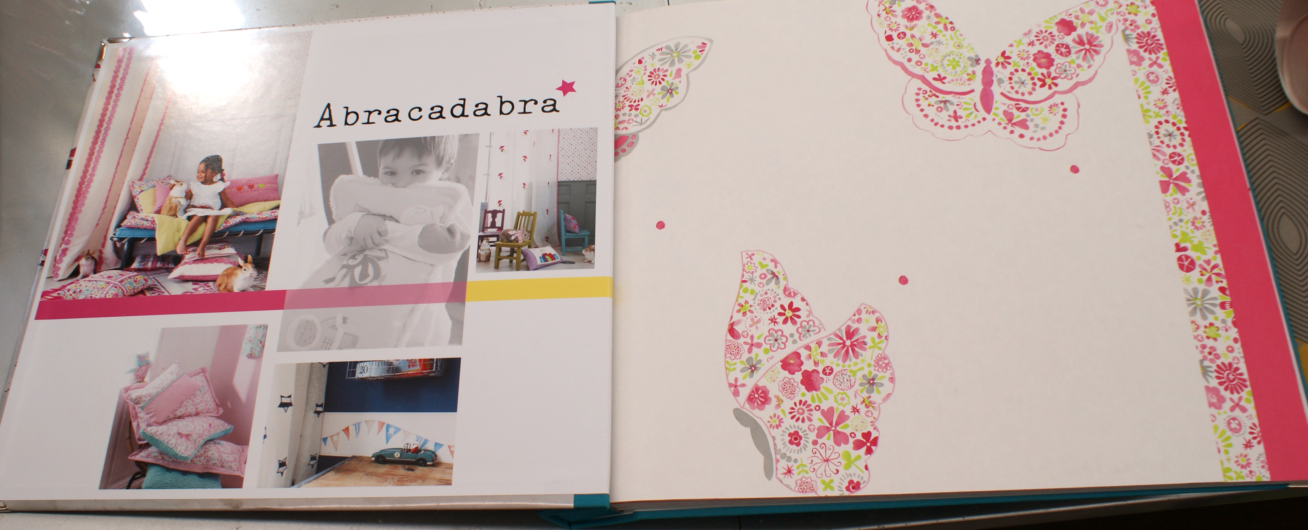 Papel pintado infantil abracadabra papel pintado infantil for Papel decomural infantil