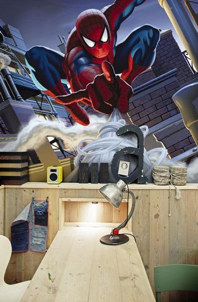 Fotomural Infantil Spiderman