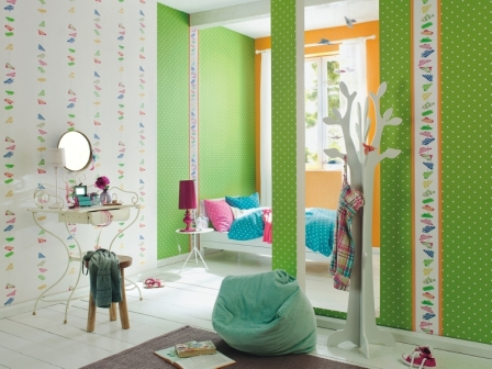 papel pintado infantil kids club