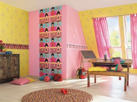 papel pintado kids club rasch