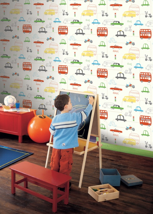 papel_pintado_infantil_cochecitos_colores