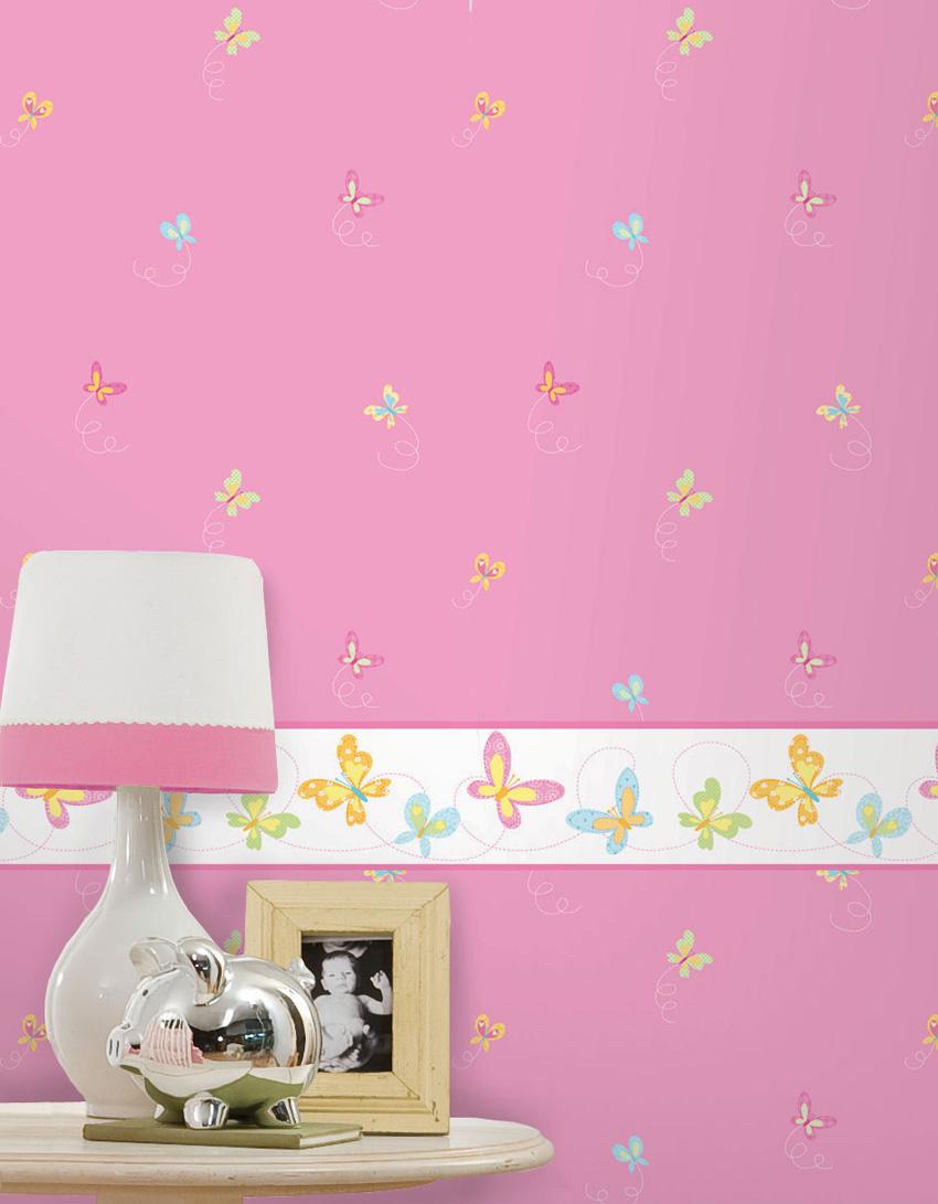 Papel pintado infantil hoopla papel pintado infantil - Papeles infantiles para paredes ...