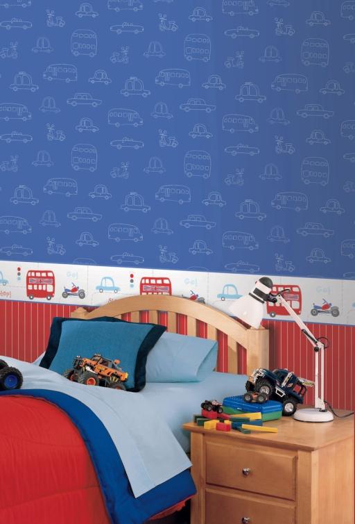 Papel Pintado Infantil Hoopla Ref. 30710