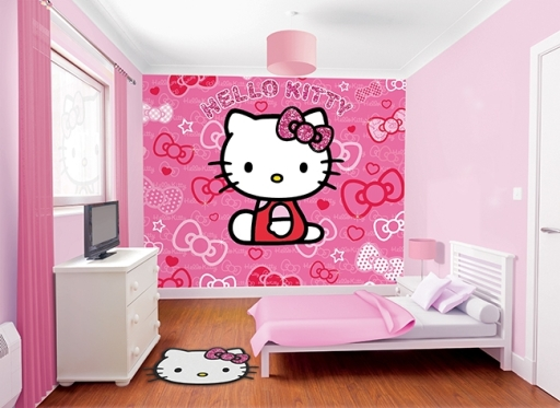 fotomural_infantil_hello_kitty