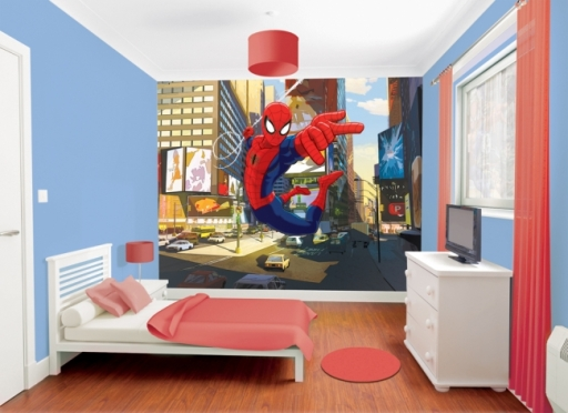 fotomurales_infantiles_spiderman
