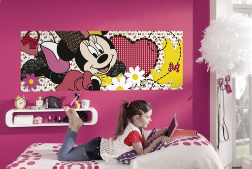 Papel Infantil Minnie Mouse