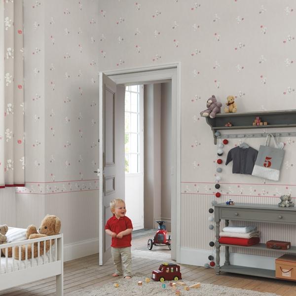 Papel pintado infantil douce nuit papel pintado infantil for Papel pintado infantil