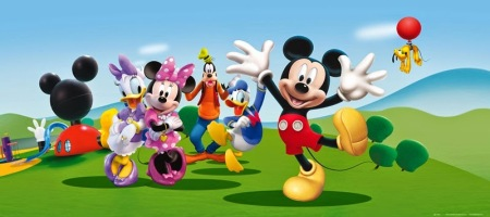 Fotomural Mickey Mouse y Amigos FTDH0643