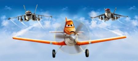 Fotomural Infantil Aviones FTDH0645