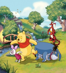 Fotomural Winnie The Pooh FTDL1935
