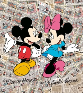 Fotomural Mickey & Minnie FTDL1936