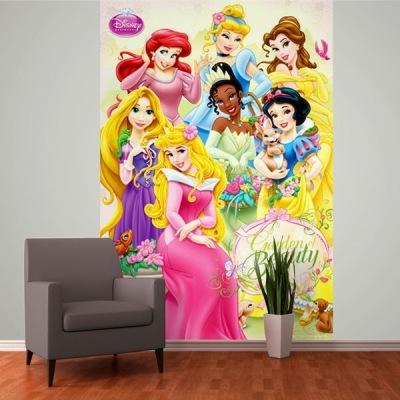 Fotomural Princesas Disney