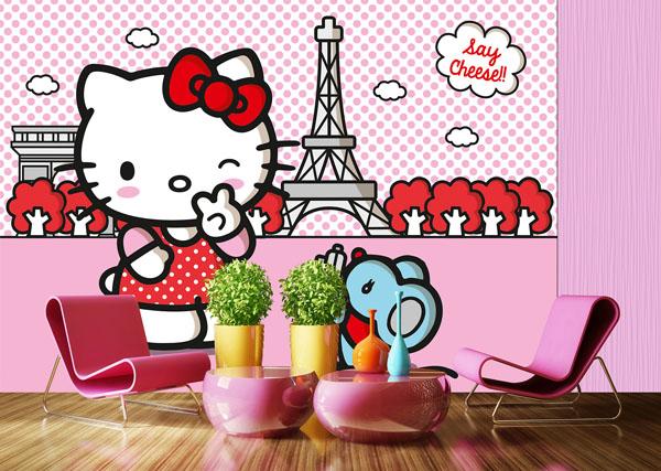 Fotomural Hello Kitty Gran Tamaño